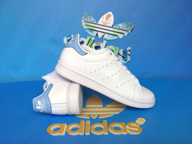 Adidas Originals Stan Smith Blue BA9946 http://www.adboostsaleb.com