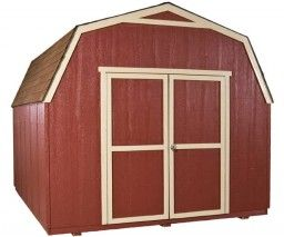 Discounted Gambrel Sheds | Barn Sheds 10' x 14' installed for $1,500!
