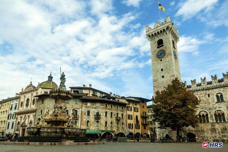 Wunderschöne Tage in Norditalien. Schlendert über den Piazza Fiera in #Trient mit seinen zahlreichen charmanten Cafés und Geschäften. Aber auch eine Tour zum Monte Bondone oder zum Gardasee lohnt sich. Ihr übernachtet im  4-Sterne Best Western Quid #Hotel für nur 56€ zu zweit inkl. Frühstück!