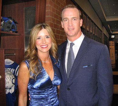 Peyton Manning's wife Ashley Manning (and now their twins too) - PlayerWives.com