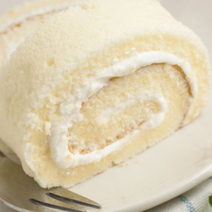 The recipe for a�Light Delightful Cake Roll With Whipped Cream is delicious.