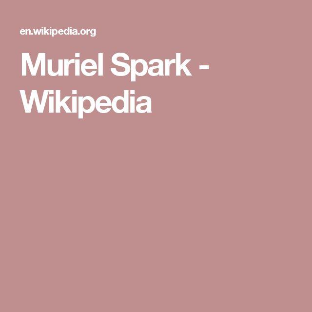 Muriel Spark - Wikipedia