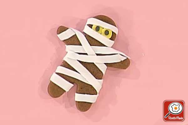 Ricetta Biscotti mummia