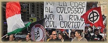Sfila la Destra, da Storace al Fronte Veneto Skinhead