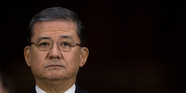 Eric Shinseki, U.S. secretary of Veterans Affairs, resigned Friday amid a controversy involving delays in healthcare for military veterans.  President Barack Obama said he had accepted the VA chief's resignation after meeting with Shinseki Friday. ...