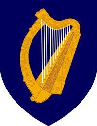 Brasão de armas: República da Irlanda
