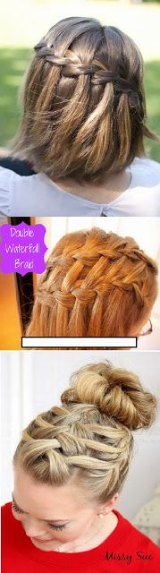 The Most Popular Braid - Single Waterfall , Double...