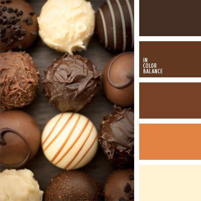 color caramelo, color chocolate, color del chocolate lechoso, color wengué, colores para la decoración, elección del color, matices cálidos del marrón, paleta de colores monocromática, paleta del color marrón monocromática, paletas de colores para decoración, paletas para un