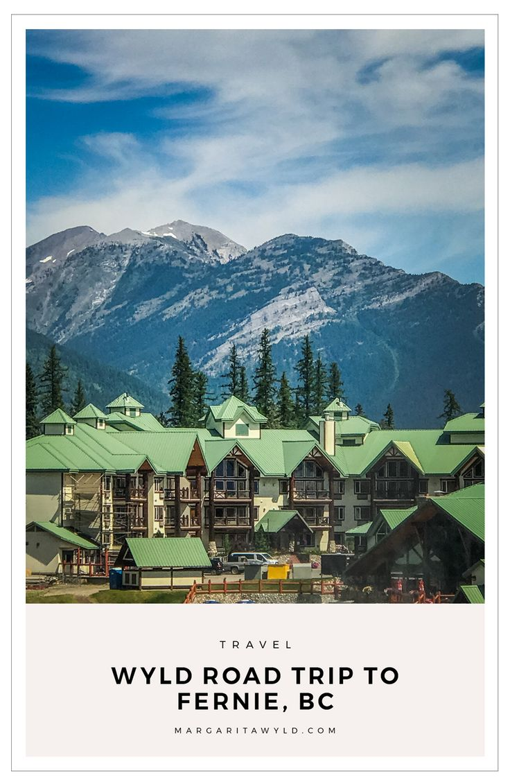 Thinking of going on a Road Trip with the Family? We travel to Fernie, BC on a summer vacation! Fernie offers mountain biking, aerial park, river rafting, and a ton of fun in historic downtown.