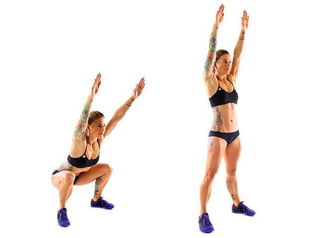 Хотите быть здоровыми? Всего лишь 3 упражнения быстро приведут Ваше тело в форму.  1. Глубокие приседания Результат: Придаст вашей попе округлую форму, а так жеукрепитвнутреннюю и заднюю поверхность…