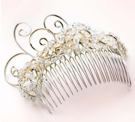 JEWELLED HAIR COMB & RINGS