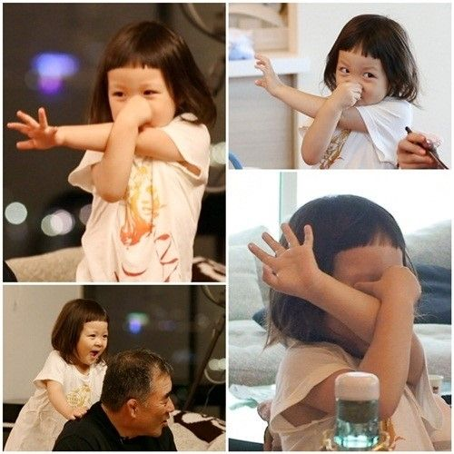 "Choo Sarang on "" The Return of Superman "" #koreanshow"