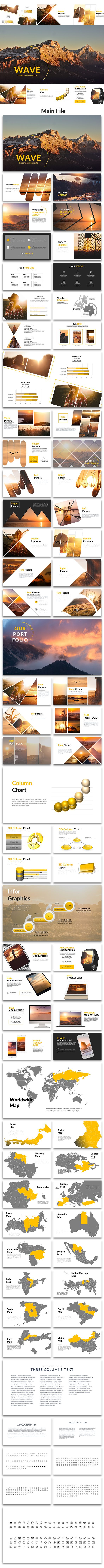 Wave - Creative PowerPoint Template
