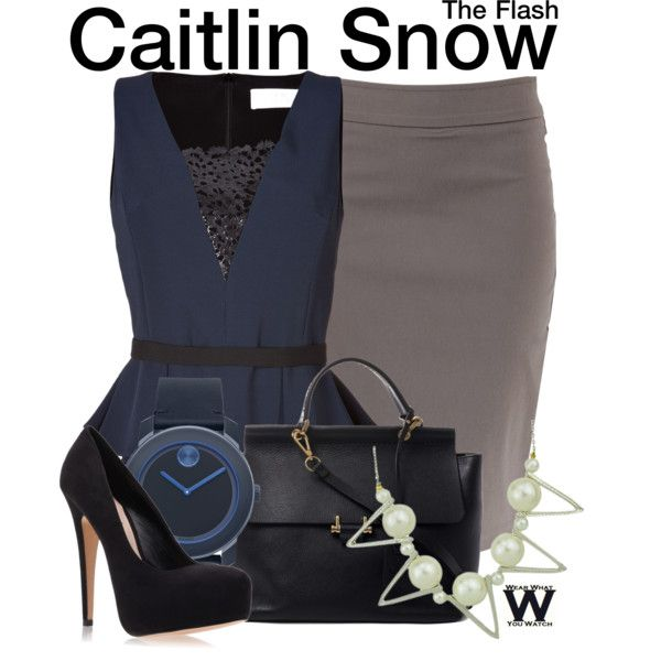 Inspired by Danielle Panabaker as Caitlin Snow on The Flash.