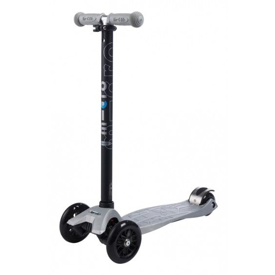 Microscooters - Maxi Micro T-Bar Silver - Christmas Catalogue - Our Products - Entropy Australia