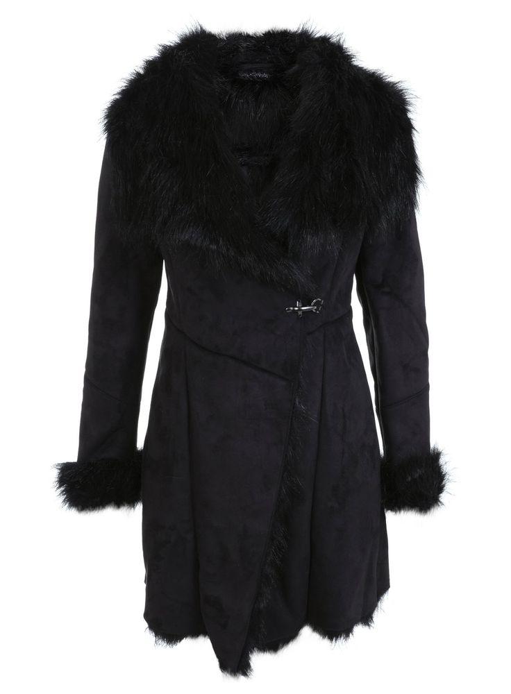 les 25 meilleures id es de la cat gorie manteau en fausse. Black Bedroom Furniture Sets. Home Design Ideas