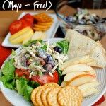 Honey Roasted Chicken Salad (Mayo Free!)  I'm making this tomorrow!  Love this girls blog!