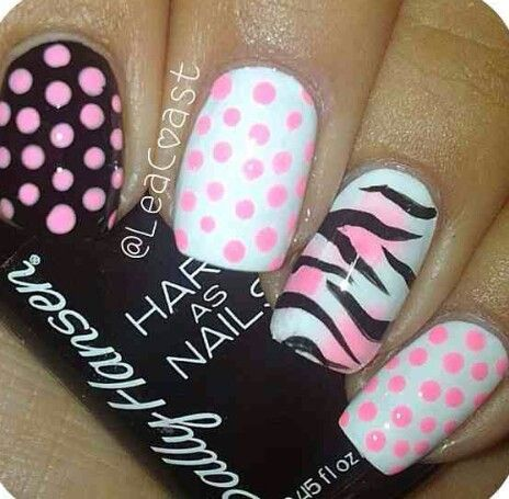 These nails are really cute  Free Nail Technician Information!!!!!!!!  www.nailtechsucce...