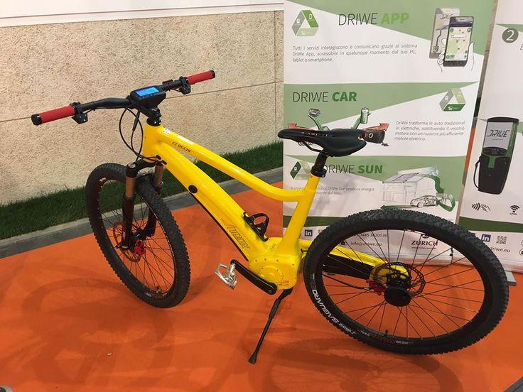 #Neox #bici #elettrica #mountainbike #electricbike #eco #ecomondo #fiera #2016
