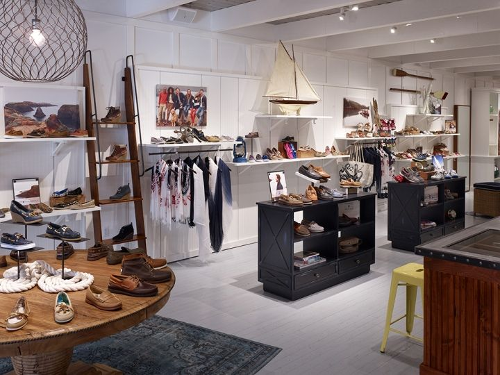 Sperry Top-Sider store by Callison, Natick – Massachusetts Invisible Fixtures #fixtures #retail