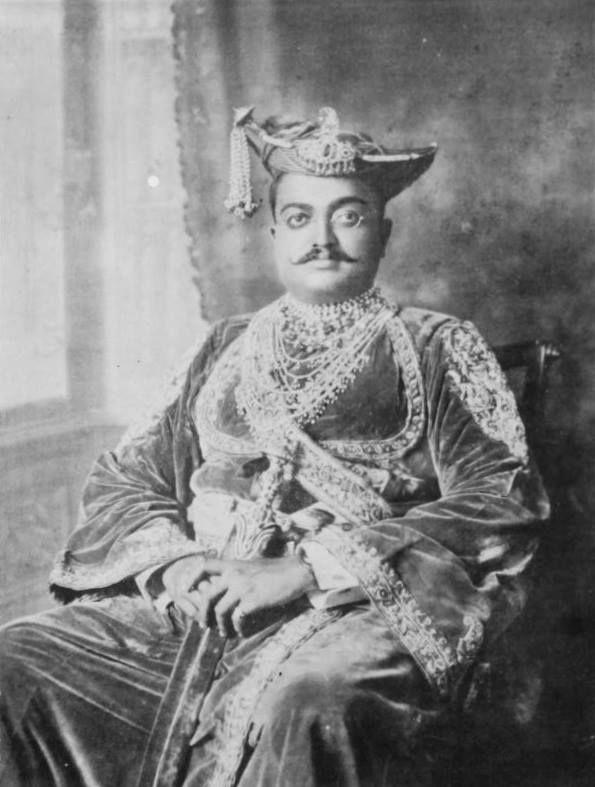 1900 - 1937 HH Raja Shrimant Sir Maloji Rao IV Raje Ghorpade Bahadur (Nana Sahib), Raja of Mudhol,  By Rohit Sonkiya