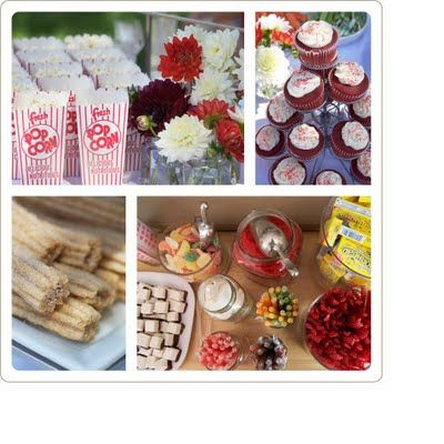 circus party food and candy ideas