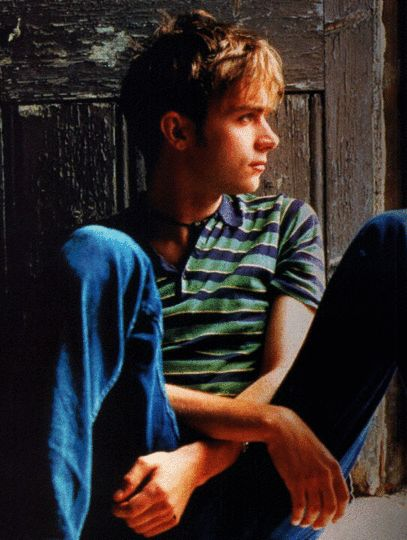 a young damon albarn... adorable.