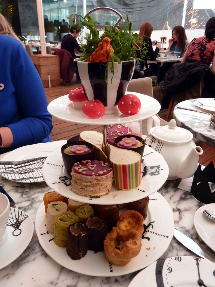 London Mad Hatters Afternoon Tea - I simply must do this someday!