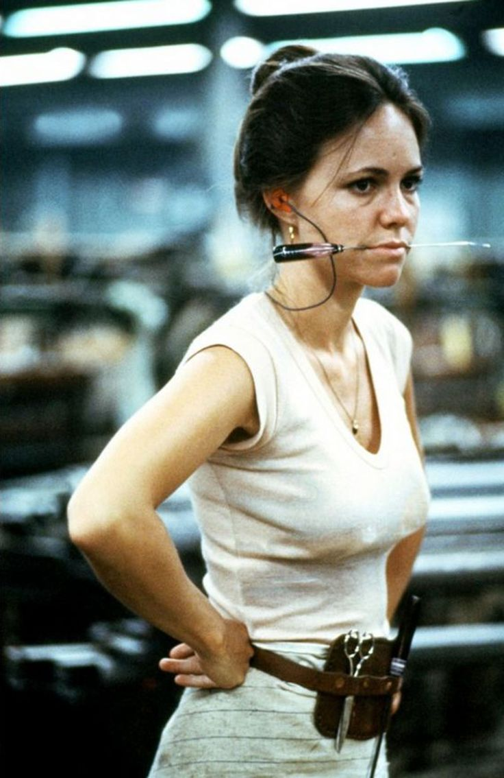 "Sally Field en ""Norma Rae"", 1979"
