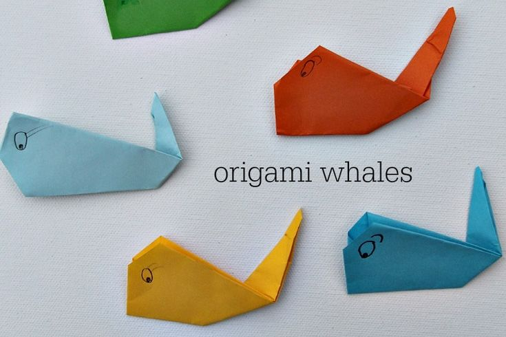 simple origami for kids   Rusty and Rosy