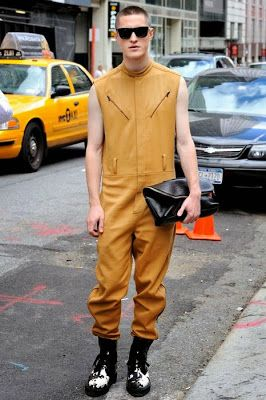 male pattern boldness: Men's Jumpsuits -- YEA or NAY?