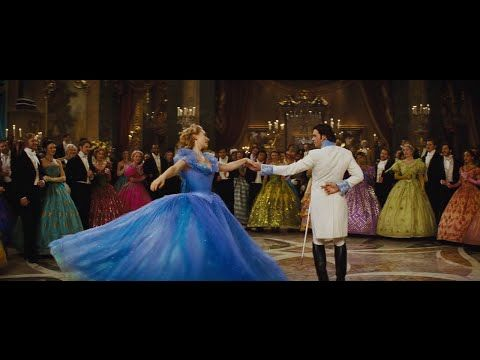 Cinderella 2015 - The Royal Ball Dance of Cinderella (Ella) and Prince Kit (Prince Charming)