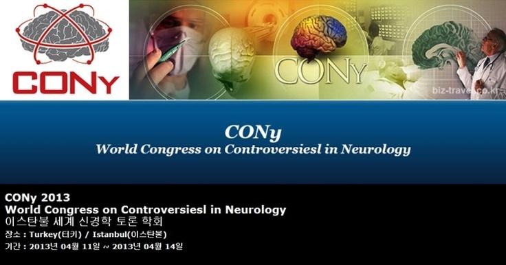 CONy 2013 World Congress on Controversiesl in Neurology  이스탄불 세계 신경학 토론 학회