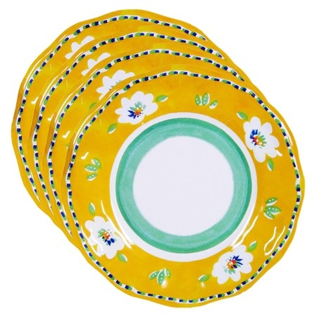 Campania Dinner Plate in Yellow from the Le Cadeaux event at Joss and Main: Dinners Plates, Prints Plates, Cadeaux Events, Campania Dinners, Le Cadeaux, Cadeaux Campania, Plates Sets, Campania Salad, Salad Plates