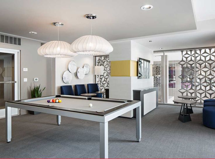Game Tech Lounge At Amli Lex On Orange A Luxury Apartment
