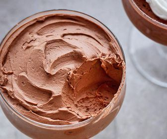 keto snack chocolate mousse One teaspoon of unsweetened cocoa powder mixed with 3-4 tablespoons of heavy cream (whipped) and a dash of vanilla makes a delicious, low carb mousse.  Use artificial sweeteners sparingly, if at all. Increase the cocoa for a darker chocolate version.