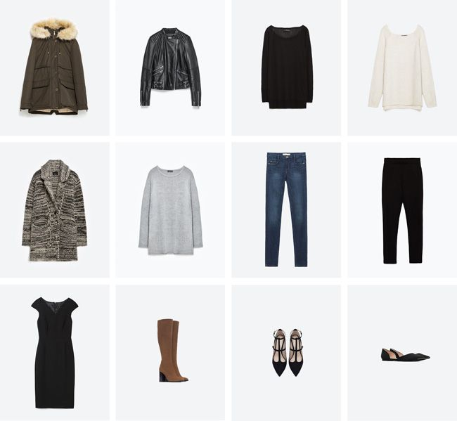 My Fall & Winter 12 Piece Wardrobe — By The Shore #capsulewardrobe