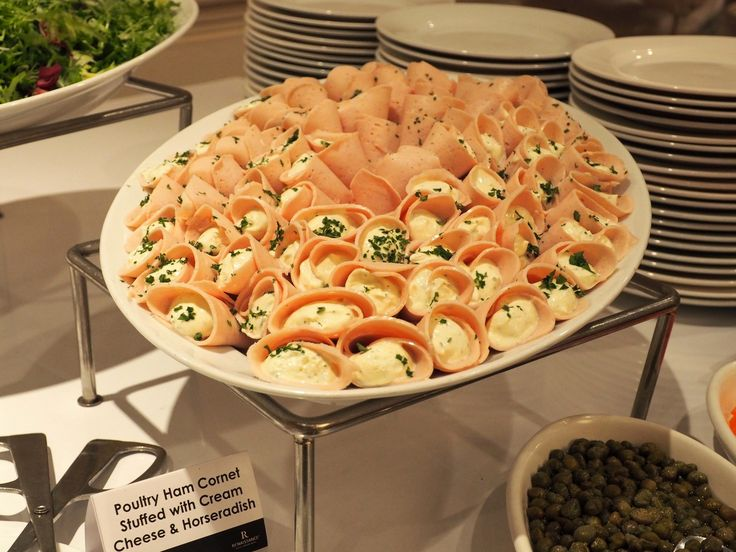 Poultry Ham Cornet Stuffed with  Cream Cheese & Horseradish, National Day Of Hungary 2016 Reception @ Renaissance Hotel KL | The Social Nomad