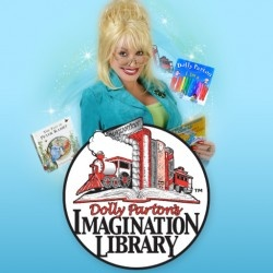 Dolly Parton's Imagination Library --- Her vision was to foster a love of reading and improve literacy among preschool children and their families by providing them with the gift of a specially selected book each month. Contact us to enroll a child in an existing program or to start one in your area! --- http://imaginationlibrary.com/