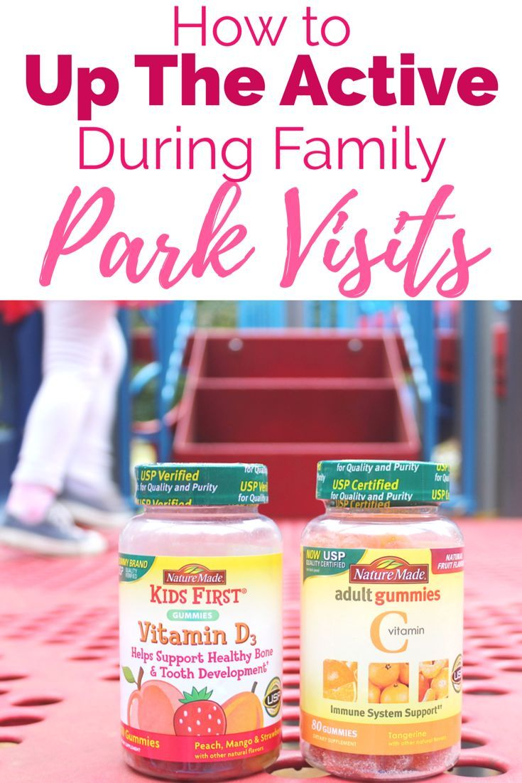 {Ad} How to Up The Active During Family Park Visits | These Tips will help your kids be more active and get more exercise during family park time. #NatureMadeFamily