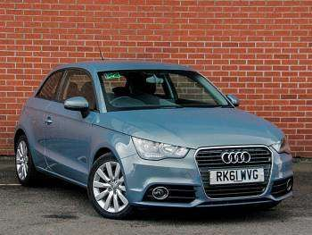 Used 2011 (61 reg) Blue Audi A1 1.4 TFSI Sport 3dr S Tronic for sale on RAC Cars