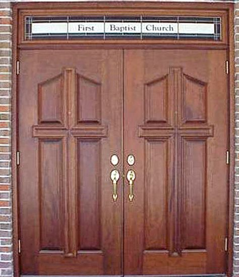 Mahogany Church Double Doors DbyD-7019 & 18 best Church Doors images on Pinterest | Entrance doors Front ...