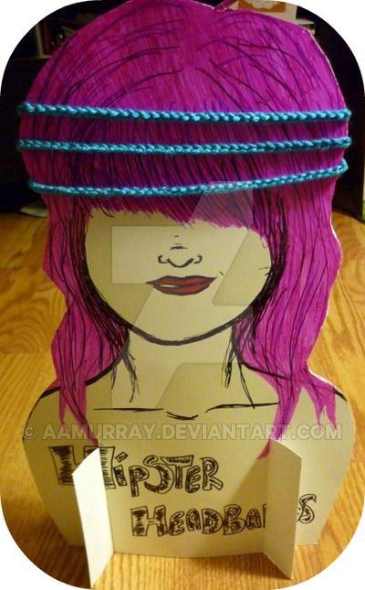 Hipster Headband Display by AAMurray.deviantart.com on @DeviantArt