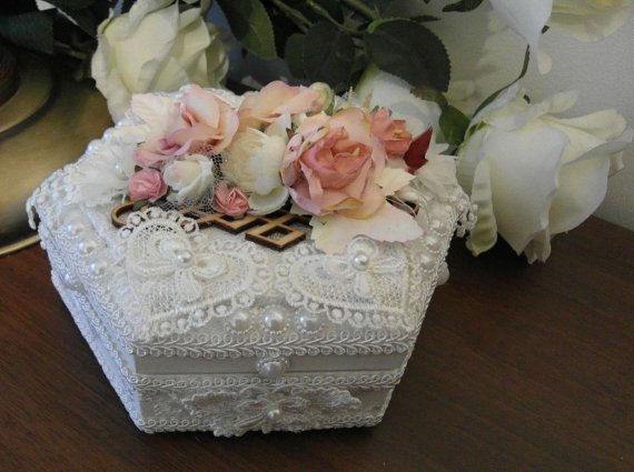 Gorgeous Victorian box for jewellery от HandmadeGiftsByOlga