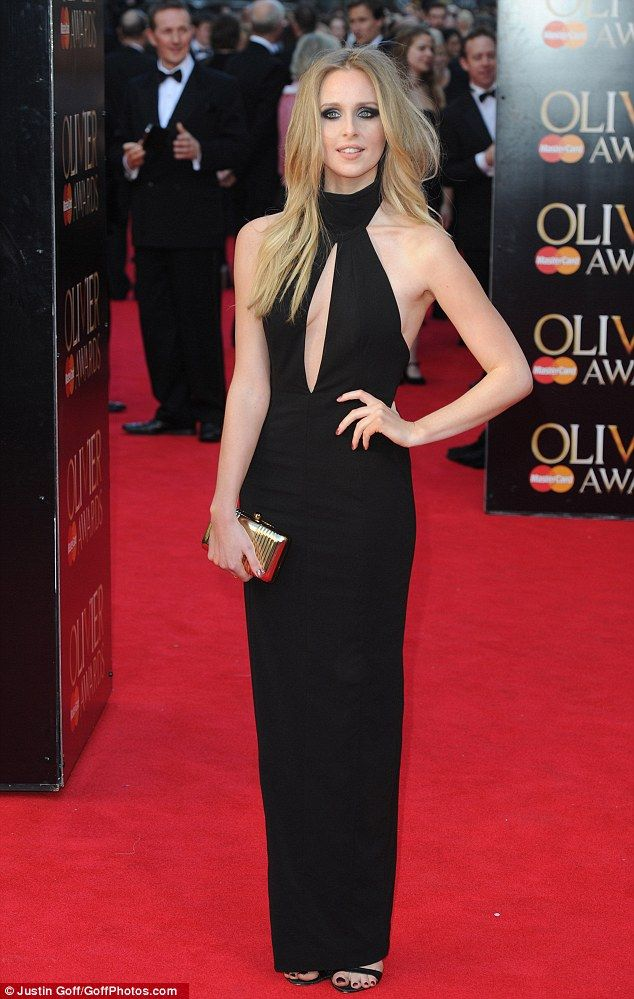 Looking good: Diana Vickers pictured at The Olivier Awards 2014 in central London
