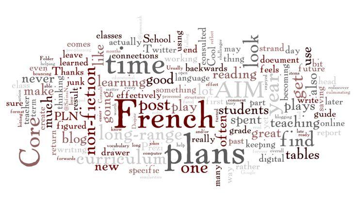 FSL teacher Blog Technology integration in Core French