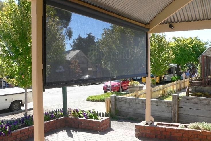 Outdoor Blinds & Cafe Blinds | Clear & Waterproof Options!