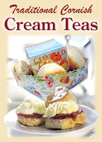 CORNISH CREAM TEA | 'Traditional Cornish Cream Teas'     ✫ღ⊰n