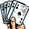 Como entreter-se a jogar cartas, mesmo sem parceiros.  Veja mais em http://www.comofazer.org/lazer/como-entreter-se-a-jogar-cartas-mesmo-sem-parceiros/