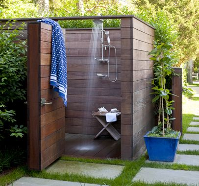 Web Photo Gallery outside shower By the Sea Hamptons Home